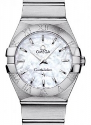NEW OMEGA CONSTELLATION LADIES WATCH 123.10.27.60.05.001