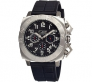 Tritium Tube Men's Watch Primary Color: Silver / Black