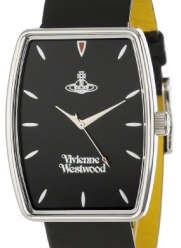 Vivienne Westwood Men's VV009BKBK Buckle Black on Black Watch