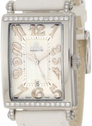 Gevril Women's 7249NT Avenue of Americas White Diamond Watch