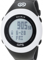 Soleus Unisex SG100004 GPS Fit 1.0 White and Black Watch