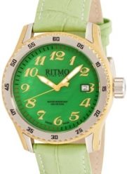 Ritmo Mundo Women's 233 YG Green MOP Extreme Quartz Mother-Of-Pearl Dial Watch