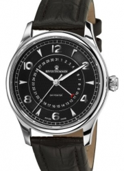 Revue Thommen Men's 10012.2537 Day pointer Mens Black Face Automatic Watch Watch