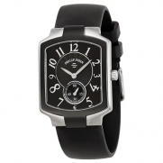 Philip Stein Women's 21TB-FB-RB Classic Black Rubber Strap Watch