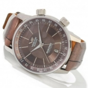 Vostok-Europe Men's 2426/5601058 Gaz-14 Limo Automatic Brown Dial Watch