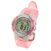 Como Children Pink Band Water Resistant Sports Digital Watch