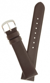 Mens Genuine Italian Leather Watchband Brown 20mm Watch Band - by JP Leatherworks