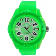 Tendence Women's 2013042 Rainbow Hi-Tech Polycarbonate Green Watch