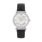 Saint Honore Women's 752012 1PARDN Opera Pavet Diamond Dial Satin Watch
