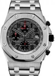 Audemars Piguet Royal Oak Offshore Grey Dial Mens Watch 26170TIOO1000TI01