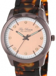Ted Baker Women's TE4081 Dress Sport Rose Gold Dial Bronzelite Case Bracelet Watch