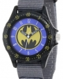 Batman Kids' BAT5039 Grey Batman Time Teacher Watch
