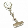The Olivia Collection White Dial Dolphin Nurses Fob Watch TOC07