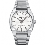 Hector Men's Silver Dial Date Watch
