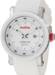 red line Men's RL-18002-02 Compressor White Dial Watch