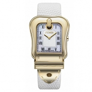 Fendi B.Fendi Gold-Plated Large Mother-of-Pearl Dial Women's Watch #F373144