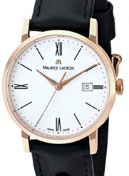 Maurice Lacroix Women's EL1084-PVP01-110 Eliros Watch with Black Leather Band