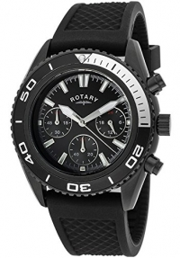 Rotary GS00107-04 Mens All Black Watch