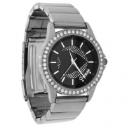 Morgan Ladies Gunmetal Bracelet Watch AN95.10MO [Watch]