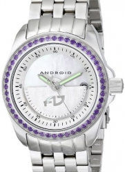 ANDROID Unisex AD764APU Rotator Analog Japanese-Automatic Silver Watch