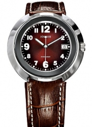 Jowissa Men's J7.011.L Pegasus Slim Brown Dial Leather Date Watch