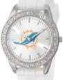 Game Time Women's NFL-FRO-MIA Frost Watch - Miami Dolphins