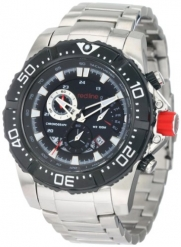 red line Men's RL-90008-BB-11 Chronograph Stainless Steel Watch