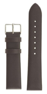 Mens Classic Glove Leather Watchband Brown 20mm Watch Band - by JP Leatherworks