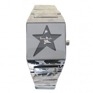 THIERRY MUGLER - Star Face Square Watch with Steel Bracelet - 4712701