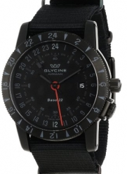 Glycine Men's 3887-99-T9 Airman Multi-Time Zone Watch
