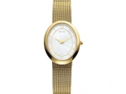 Danish Design IV05Q995 Gold Tone Stainless Steel Band Mother of Pearl Dial Women's Watch