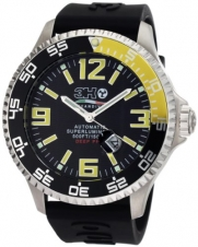 3H Men's DPS1GN Deep-Pro Stainless Steel Automatic Interchangeable Band Watch