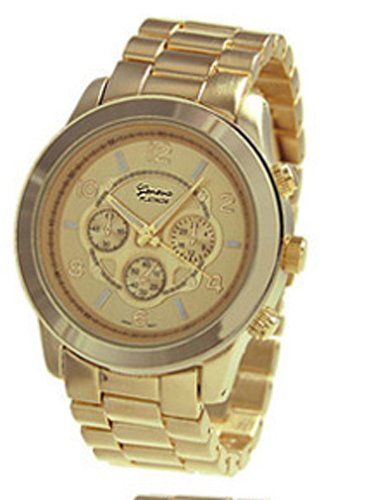 geneva gold wrist watches