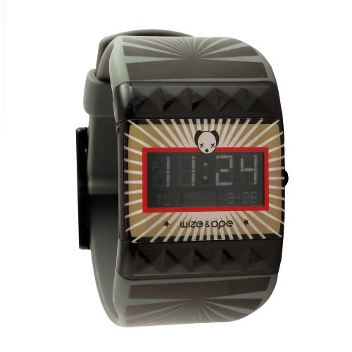 wize ope unisex open your mind digital watch wo oym 2 with black dial and touch screen wize. Black Bedroom Furniture Sets. Home Design Ideas