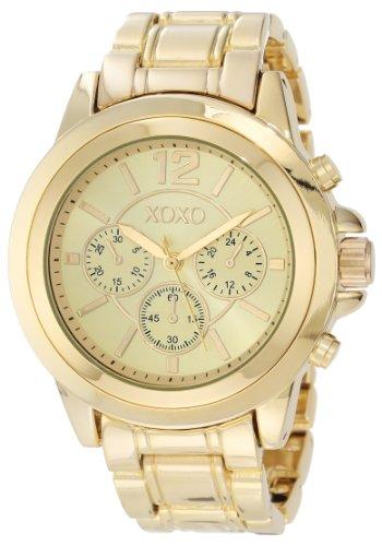 Xoxo women 39 s xo5589 gold tone bracelet watch xoxo xoxo xo5589 for Watches xoxo