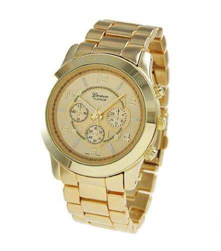 geneva s or s unisex chronograph style in