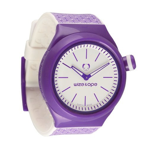 wize ope unisex geometry analogue watch sh geo 1 with purple dial wize and ope wize ope. Black Bedroom Furniture Sets. Home Design Ideas