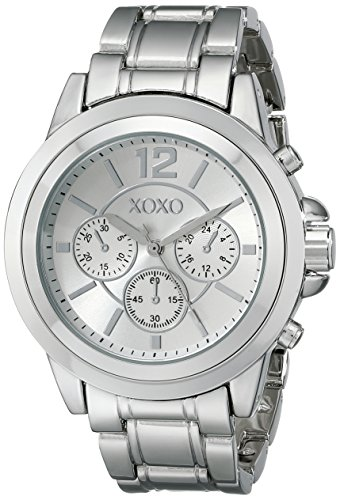 Xoxo women 39 s xo5588 silver tone bracelet watch xoxo xoxo xo5588 for Watches xoxo