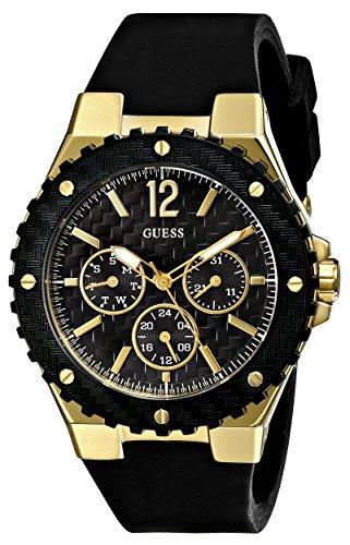 guess s u0149l4 carbon fiber inspired black gold