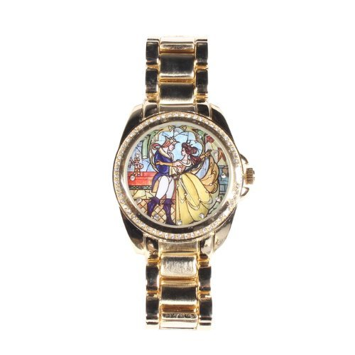 Disney Beauty And The Beast Stained Glass Watch, Disney ...