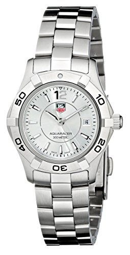 Tag heuer women 39 s waf1412 ba0823 aquaracer stainless steel dive watch tag heuer tag heuer - Heuer dive watch ...