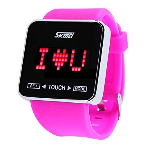 readeel fashion touch screen digital led waterproof sport
